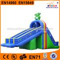 2015 de alta calidad inflable piscina flotante de diapositivas con precio al por mayor