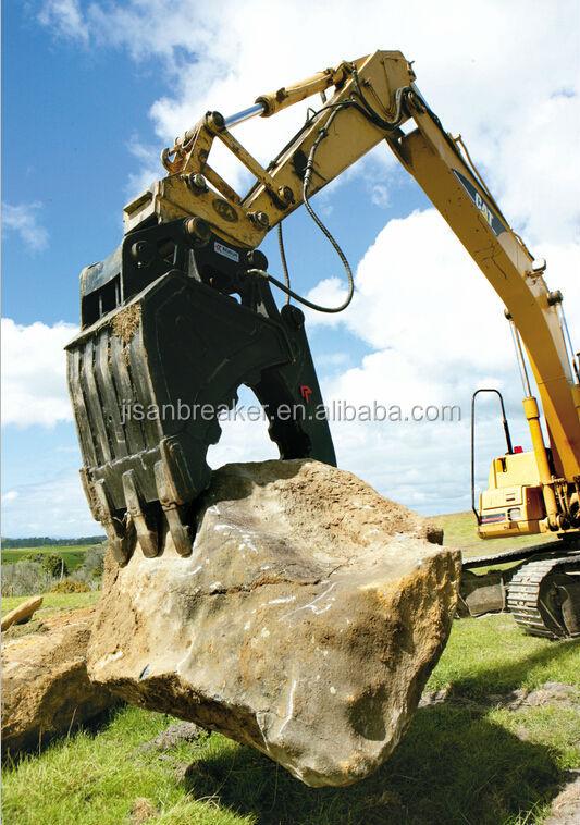 Excavator Rock Bucket : Mini excavator rock grab bucket buy
