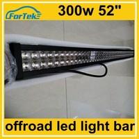 52 inch 300W led light bars off road lights