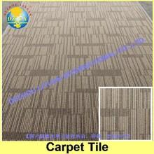 Wear-resistant thick office carpet tile/Nylon printed carpet tile/ Carpet tile with bitumen backing