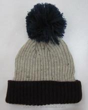Women's Winter Knit Hat With Pompom