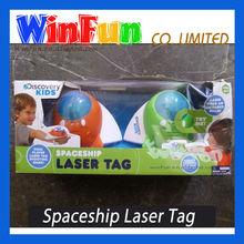 2014 Hot Sales Laser Game Guns Spaceship Laser Tag Kids Toy