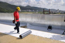 waterproof construction material, TPO elastomeric waterproofing membrane