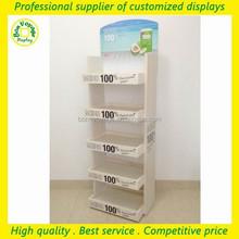 99 cent store items multi floor wooden water display rack