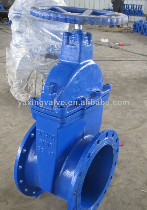 Ductile Iron Non-Rising Stem Resilient Seated cast iron water stem gate valve