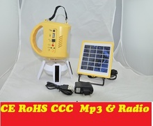 High Quality Popular updated solar camping lantern with mp3 and radio