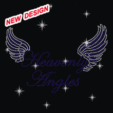 Beautiful Heart With Angel Wings Stones To Decorate Clothes U 1 45