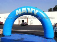 Most popular excellent blue inflatable entrance archway for events C2012