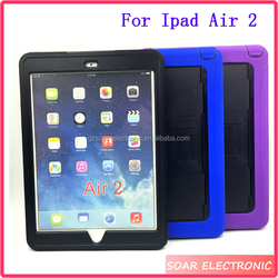 For Ipad Air 2 Case, Heavy Duty Full Body Protective Tablet Kickstand Cover For Ipad Air 2