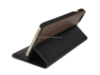 wholesale wood leather case /wood mobile phone cover,for iphone 6 6 plus wood leather cover