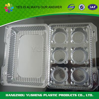 Portable biodegradable clamshell packaging
