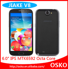 2GB RAM android 4.2 MTK6592 Cortex A7 octa core 1.7GHz 6 inch big screen dual sim mobile phones