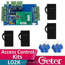 Two Door Access Panel + Four 125Khz ID Card Reader Door Access Control System