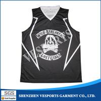 OEM Sublimation Basketball Jersey guangzhou