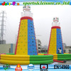 mobile giant used rock climbing wall inflatable commercial grade