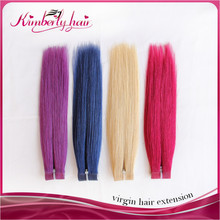 Soft and natural looking classic russian tape hair piece