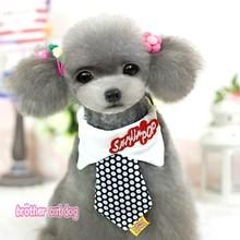 Fashion dress dog bow tie dog products