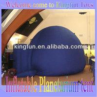 Projection/movie inflatable planetarium tent/air planetarium dome