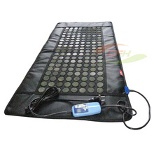 China 110*50cm thermal therapy electric far infrared mattress, jade heating mattress