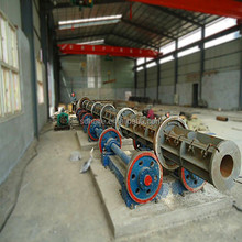 Prestressed concrete electrical poles machine, utility poles machine, telephone poles machine