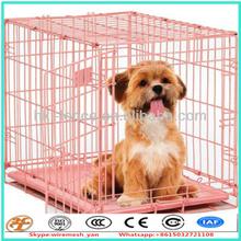 "factory supply 42"" 2 doors pet folding suitcase dog cat crate"
