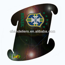 new colorful jigsaw puzzle iq lamp World Cup logo printed