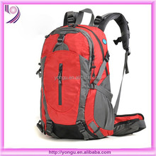multi-functional high quality fashion design nylon backpack for hiking