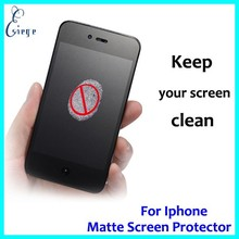 Mobile accessories Factory wholesale Matte screen protector for iphone 6 , fingerprint resistant screen protector