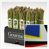 Corrugated vegetable carton box, corrugated vegetable plastic boxes for asparagus