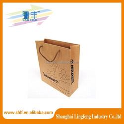 Hot sales paper Bag manufacturer raw materials of paper bag with logo print