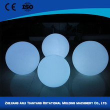 garden waterproof ip68 illuminated led ball with low price