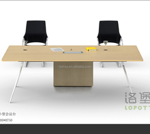 office furniture aluminium leg metal frame conference table