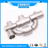 Various types hydraulic pipe fitting and 4-way cross factory manufacture