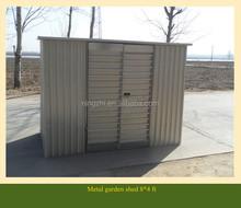 12'x10' Big Shed Green Metal Garden Shed DIY Steel Kit Storage Sheds Sale-