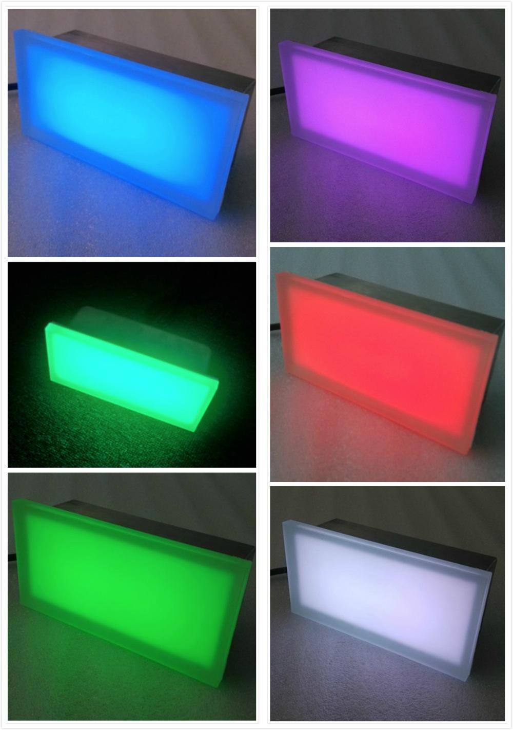 led paver light full color RGB