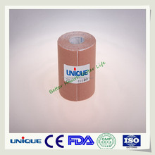 Hand tearable rigid sports strapping tape with pinked edge CE/FDA/ISO