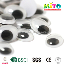 Black Oval Shape Wiggle Diy Googly Eyes