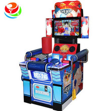 new coin operated street boxing game machine, live boxer