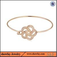 20452 unique saudi gold bracelet vintage women's bangle