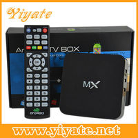 Android tv box with dvb-t2 XBMC Amlogic 8726 MX Dual Core 1080p android 4.2.2 Smart TV Box Factory Supply