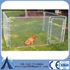 China manufacturer wholesale large welded metal dog kennel galvanized dog run kennels