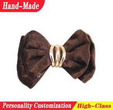 Brand new girls high-heel ornament beaded decorative chiffon cloth flower