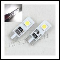 Car Auto T10 LED 194 W5W Canbus 2 SMD 5050 LED Light Bulb No error led parking Fog light Auto No Error univera car light