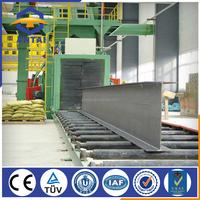 CE Approved Roller Conveyor Type Shot Blasting Machine