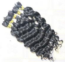 wholesale high quality india bulk hair for braiding human