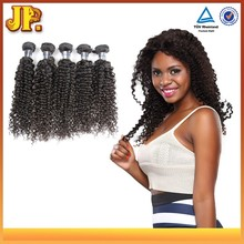 JP Best Selling Full Ends 100% Peruvian Curly Human Braiding Hair