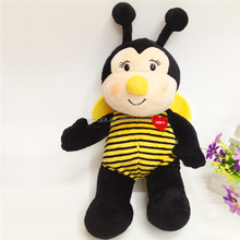 Personnalise lovely plush soft bee stuffed toy