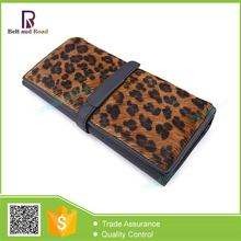 Zhejiang manufacture Trade Assurance skull studs leather wallets for women