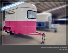 Caravan Trailer for 2 Horse Angle Load Extended