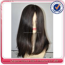 factory price stock curly silk top 100% human hair european virgin hair jewish wig
